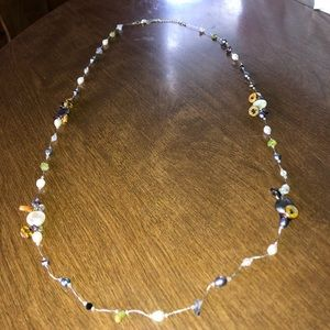 Very cool baubles necklace new without tags